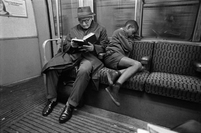 'Reading and sleeping'